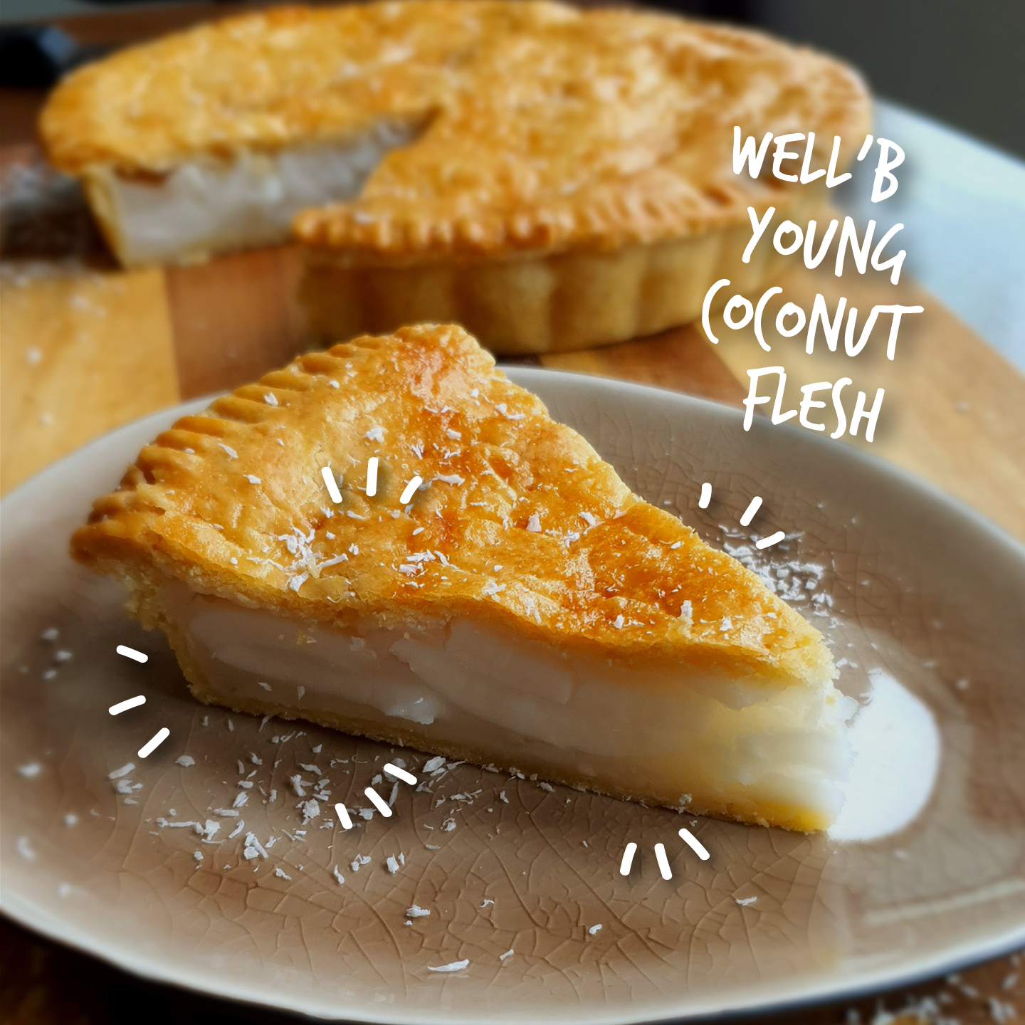 BUKO PIE: FILIPINO COCONUT PIE (9″)